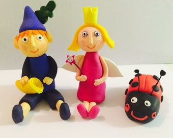 Ben and Holly Cake Topper