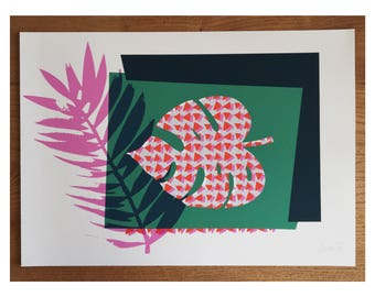 Monstera II Giclee Print