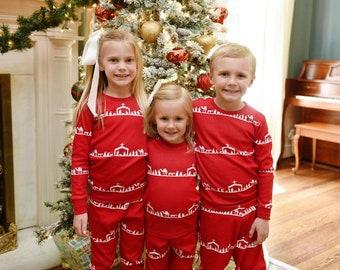 PRE-ORDER Christmas Pajamas - Christmas PJs- Pajamas- Personalized Christmas PJs - Monogrammed Christmas Pajamas - Nativity - Matching PJS