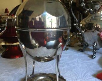 Victorian R&B Silverplate Four Egg Coddler/Cooker/Warmer-Easter/Breakfast Serving