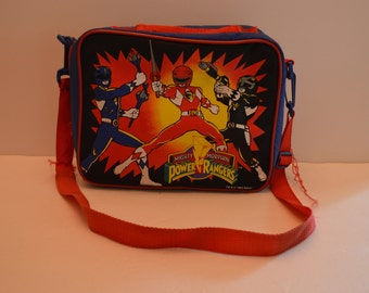 1993 Mighty Morphin Power Rangers Lunch Bag