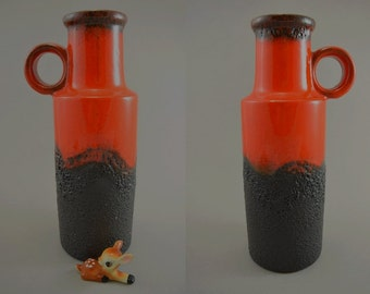 Vintage vase / Scheurich / 401 28 | West Germany | WGP | 60s