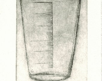 Cup 1-Etching,art print,printmaking,gift,artwork,etching print,original artwork,art,printmaking print,abstract etching,sale,medical art, med
