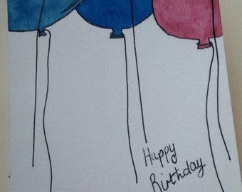 Pack Of Five Birthday Cards