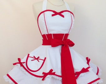 Mary Poppins Costume Apron, Jolly Holiday Cosplay, Woman's Apron, Disneybound, Retro Apron