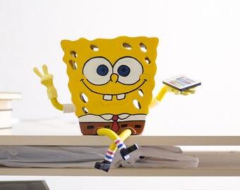 SpongeBob LED lamp, hand-made.