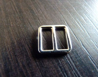 2 ties 8 for strapless bra square silver 1.1 cm