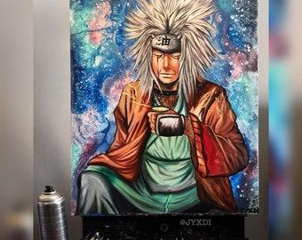 Jiraiya the Toad Sage - Canvas Print (Naruto)