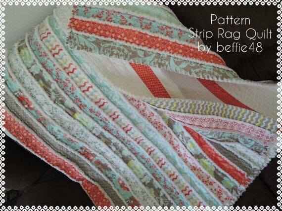Kensington Jelly Roll Rag Quilt Pattern Tutorial With Photos