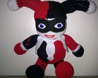 Crochet Harley Quinn Pattern