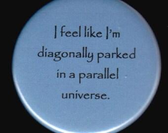 Diagonally Parked Button