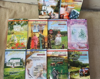 10 Love Inspired books / love inspired novels / lot 5