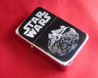 Millennium Falcon Star Wars Fuel STAR Lighter With Gift Box - FREE ENGRAVING