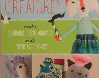 Doll Making Book, Sew Sweet Creatures, Handmade Plush Animals, Doll Sewing, Plush Animal Toys