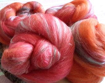 Not An Emergency Rockin' Rolly batt set - soft mixed fibers for spinning, fiber arts