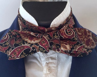 The Axebridge - Paisley Steampunk Cravat