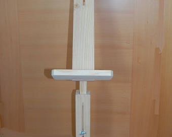 Foot frame for Bolillera/bobbin Lace Pillow Stand