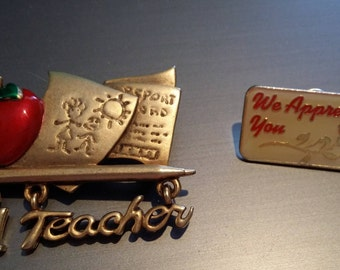 Teacher Appreciation Pins