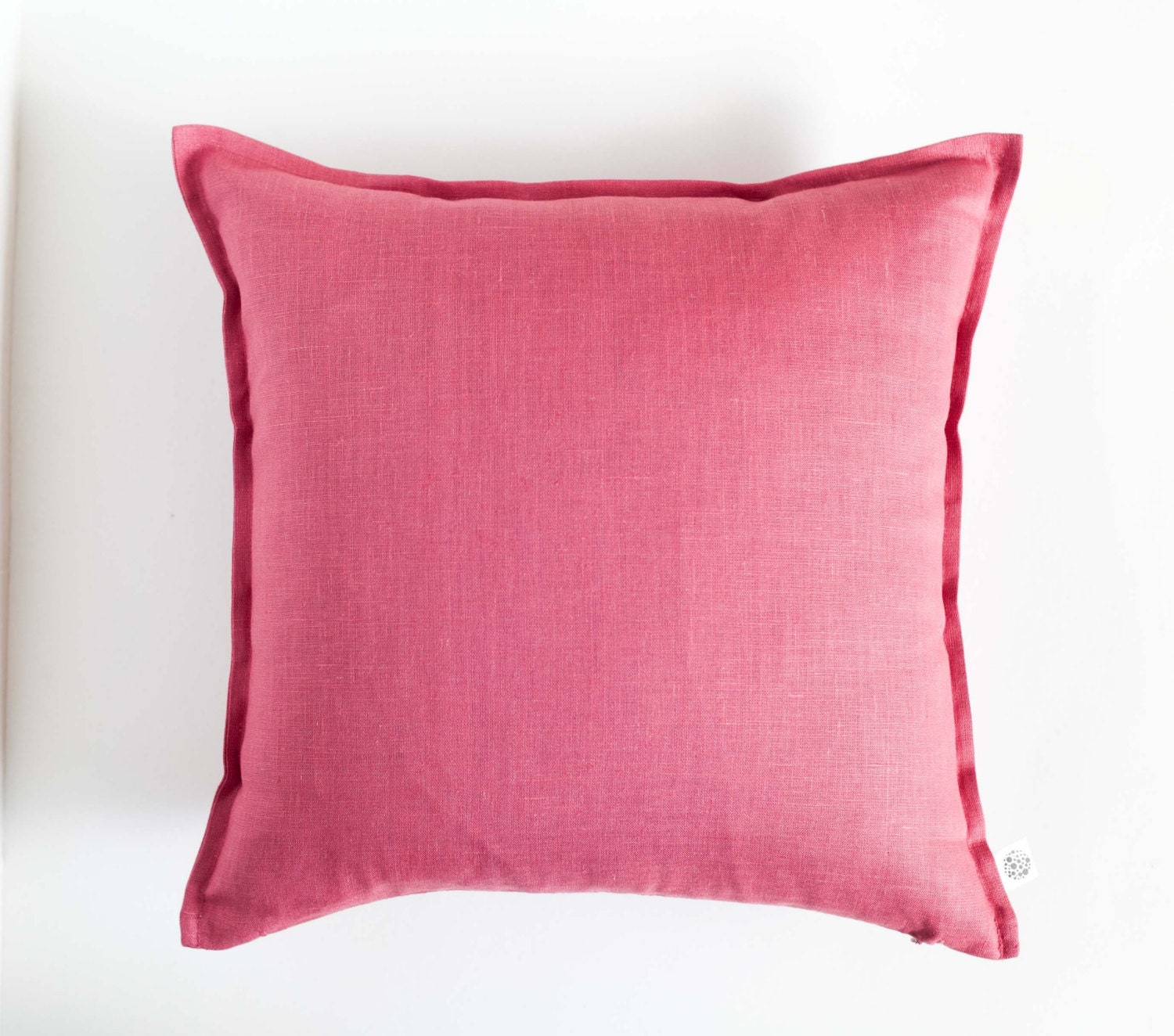 Dark pink throw pillows raspberry pink pillow cover dusty