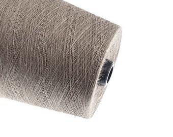Gray Linen yarn High quality natural linen  thread flax 1ply 2ply  3ply yarn weaving crochet yarn thin thick