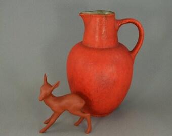 RESERVED for Elli Vintage vase/jug / Ruscha / 310 2 / Vulcano | West Germany | WGP | 60s
