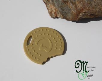 Silicone teething ring, cookie.