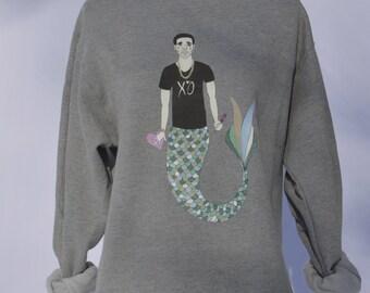 Sad Mermaid Drake Sweatshirt