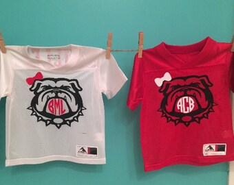 UGA Georgia Bulldogs Inspired Jersey shirt