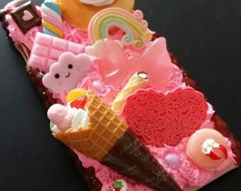 Kawaii Decoden Iphone 6/6s Case Sweets
