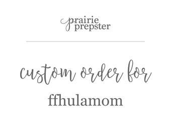 Large Custom Name Sign - For FFHULAMOM 35x9.8