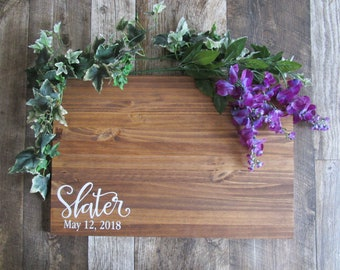 Guest Book Alternative Wood Sign | Last Name Wood Sign | Wedding Wood Sign Decor | Guest Sign In | MADE TO ORDER