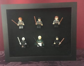 Heroes and Villains of Harry Potter Shadowbox