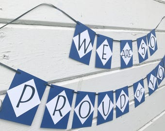 Graduation Party Ideas - Graduation Party Decorations- Graduation Banner -Graduation Decor - Graduation Party - Graduation Party Banner