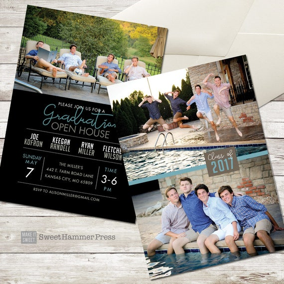 group graduation party invitation group grad party grad