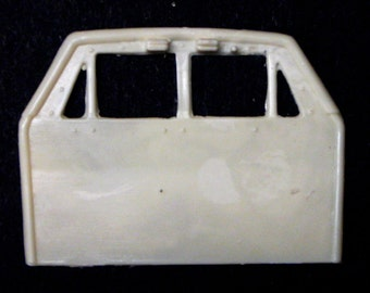 1:25 scale model resin police car safety partition frame