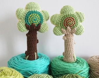 Tree Baby Rattle Amigurumi Pattern, Tree Amigurumi, Tree Baby Rattle, Baby Rattle Pattern, Baby Rattle Pattern Instant Download, PDF, DIY