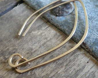Hint 14kt Goldfill Earwires - Handmade. Handforged. Made to Order
