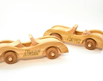 Wooden Toy Car, Wood Baby Toy, Boy's Wood Car, Personalized Toy Car, Eco Friendly Toy, Wood Children's Toy, Toddler Toy, Gift For Kids