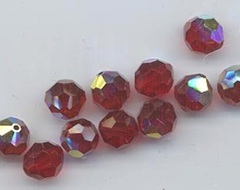 Twelve non-standard Swarovski crystals - Art. 5000 - 10 mm - siamAB