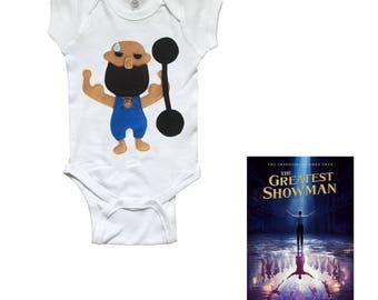 The Strongest Man - Infant Bodysuit - The Greatest Showman x mi cielo