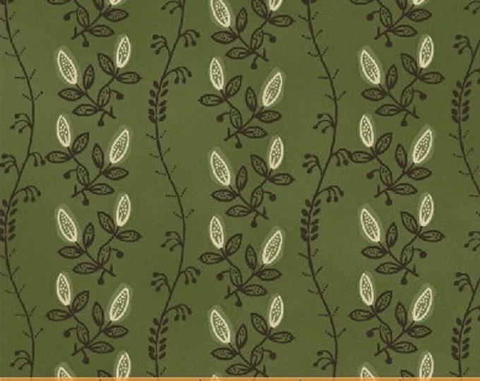 Tree of Life Vine Green - 1 yd