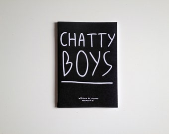 Chatty boys zine