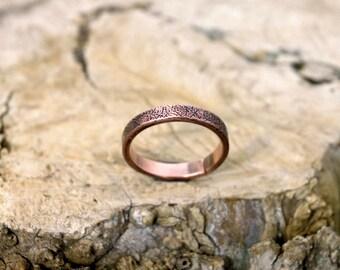 13 1/2 plus, Copper Ring, Arthritis Ring, Copper Jewelry, Adjustable Ring, Mens copper Ring - Womens copper Ring - Rustic copper Ring - USA