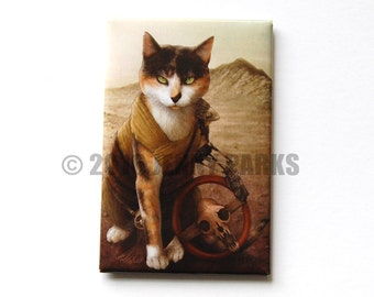 Impurrator Furriosa Fridge Magnet