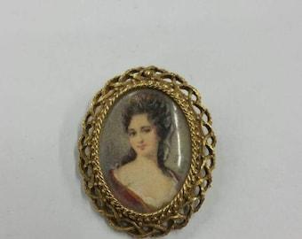 Florenza Cameo Brooch