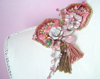 Spring Blooms - OOAK Brooch - Ready to ship x