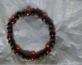 Unique handmade bracelet medieval style