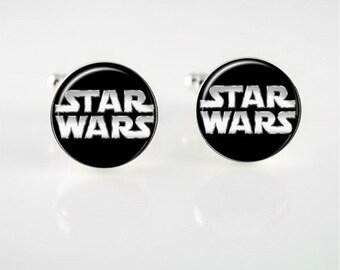 Star Wars Cuff Links or Tie Clip