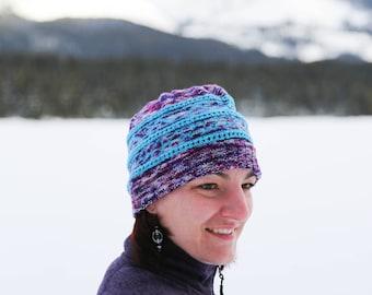 Taking Chances Hat Knitting Pattern
