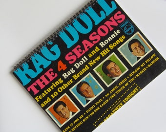 for the frankie valli / four seasons RAGDOLL / JERSEY BOYS fan Album Cover Notebook